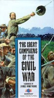 Picture of Great Campaigns of the Civil War Video Cover